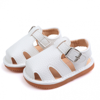 Baby Girl Solid Soft Sole Summer Sandals