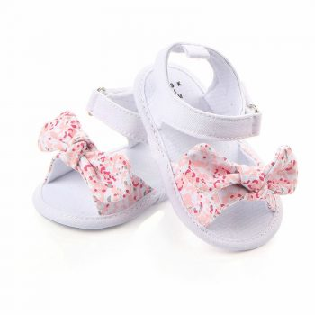 Baby Girl Bowknot Pre-Walker Shoes