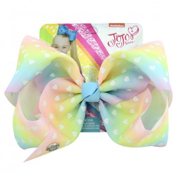 Jojo Siwa Bow Hearts Print Hair Pin for Girl
