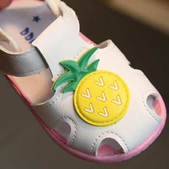 Toddler Girl Pinneaple Summer Shoes