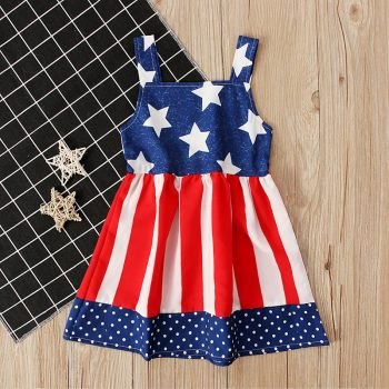 Baby / Toddler Festive 4th July Dress