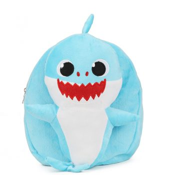 Baby Shark Cute Plush Backpack for Girls