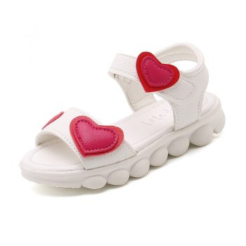 Toddler Kid Girls Hearts Summer Sandals