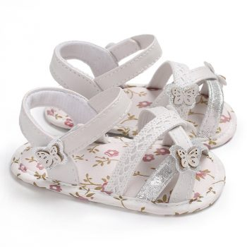 Cute Baby Girl Butterfly Lace Sandals